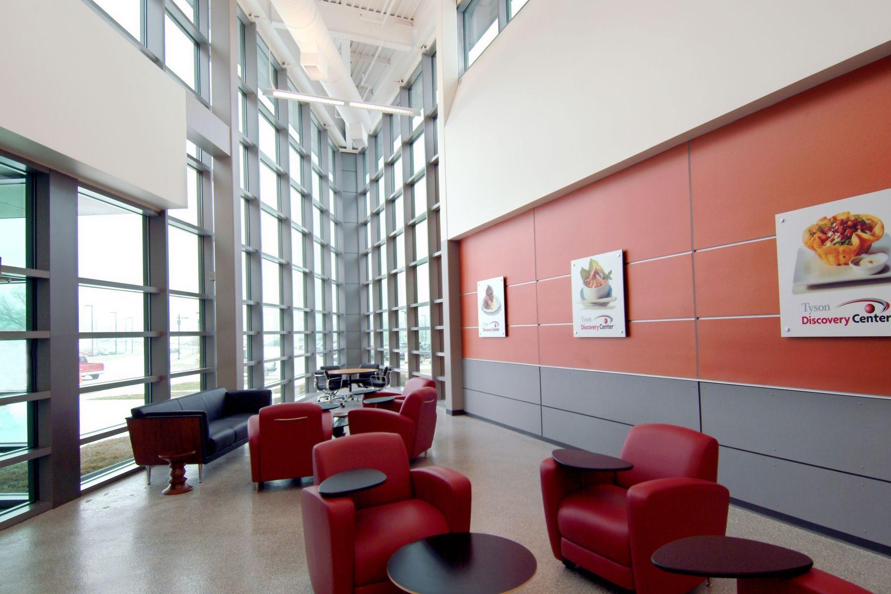 Tyson Discovery Center Lobby